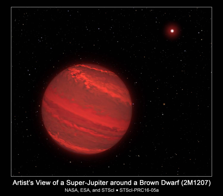 Астрономам удалось вычислить период вращения Суперюпитера