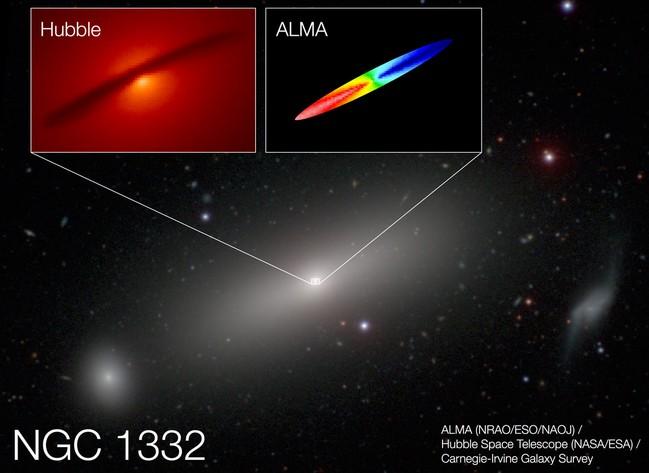 Галактика NGC 1332
