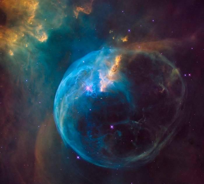 Телескоп Hubble продемонстрировал огромный Пузырь