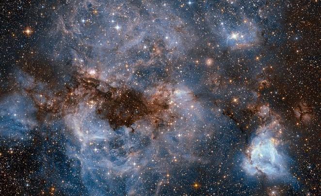 Космический шторм глазами телескопа «Хаббл»