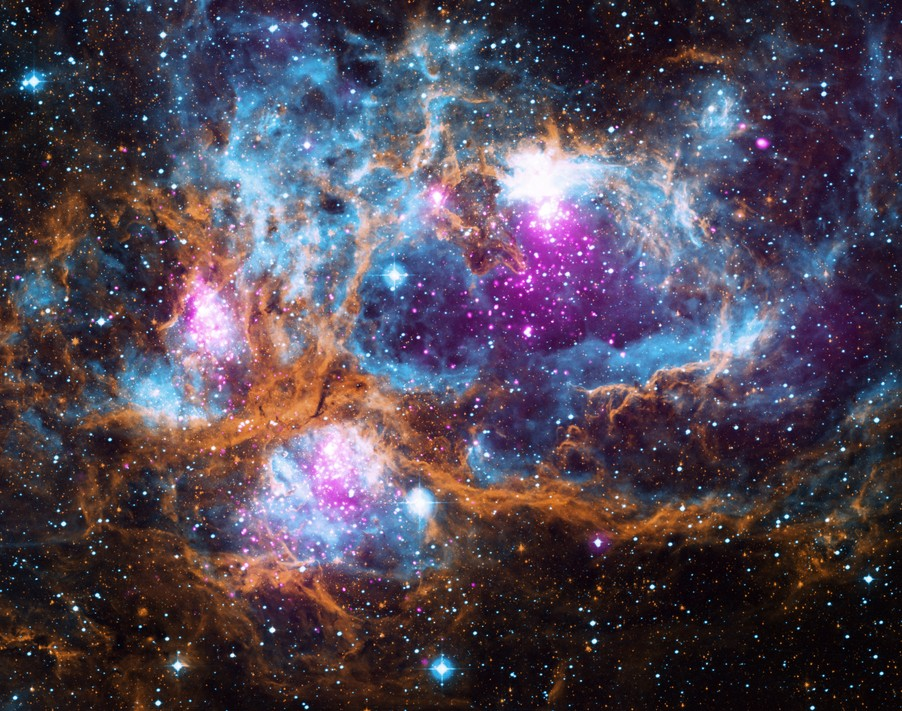 NASA опубликовало неповторимый снимок Млечного Пути