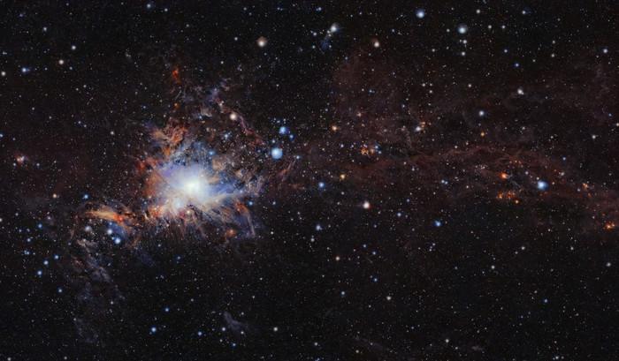 Молекулярное облако Орион А.