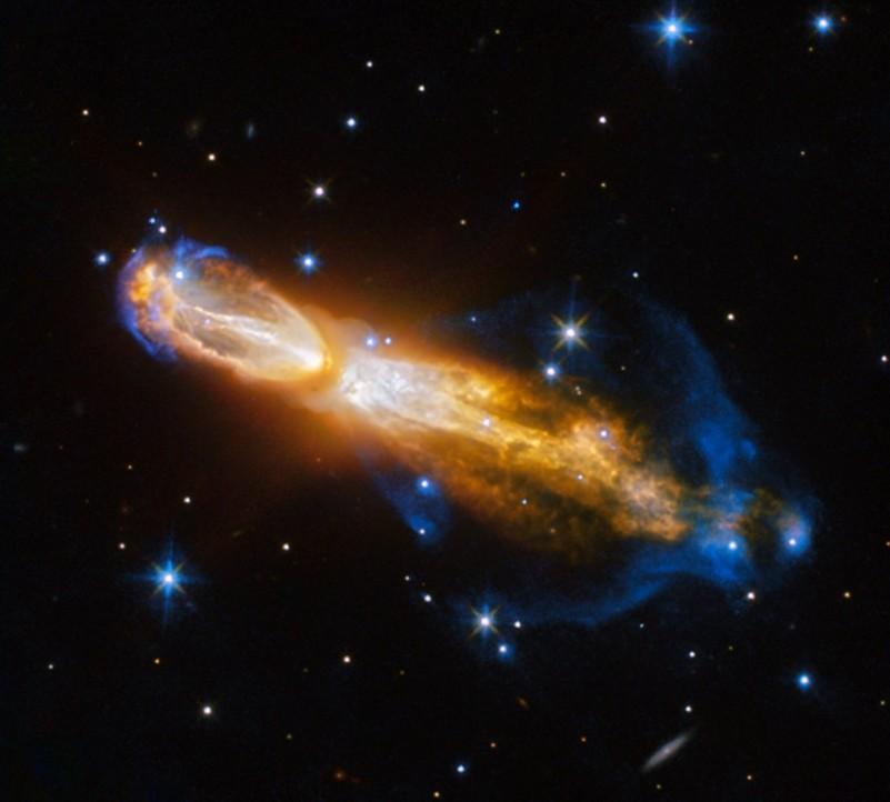 Телескоп «Хаббл» заснял смерть звезды, похожей наСолнце