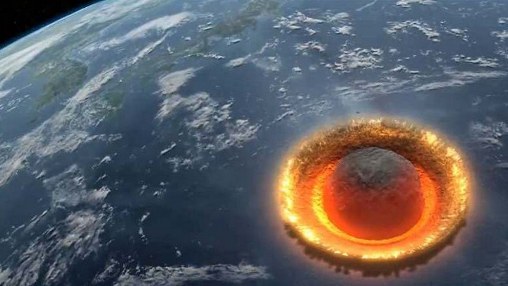 В феврале огромный астероид может упасть наЗемлю ивызвать цунами
