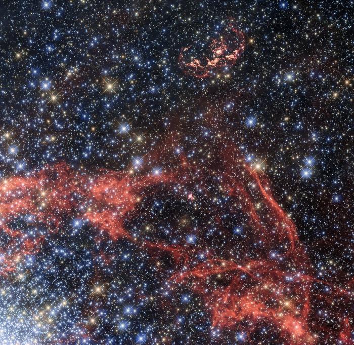 Остаток сверхновой SNR 0509-68.7.
