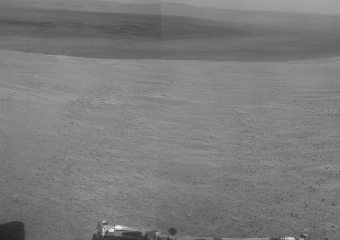 Марсоход Opportunity займется исследованием Долины Настойчивости