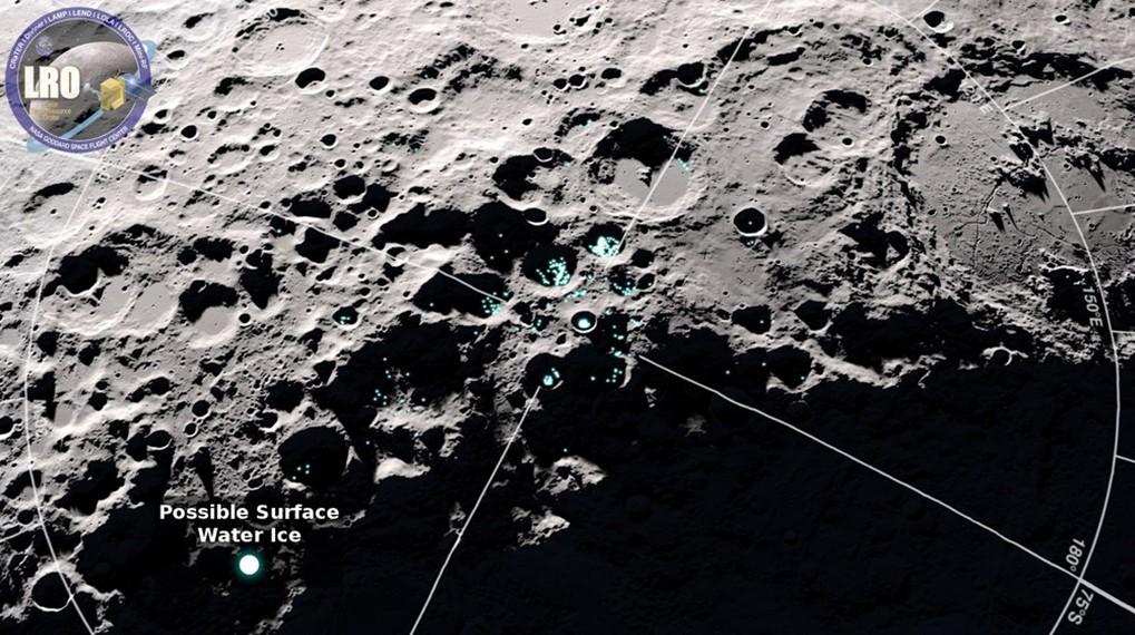 Зонд НАСА отыскал наЛуне запасы льда