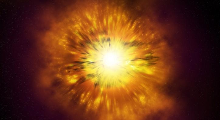 Астрономы открыли сверхновую яркостью втри Галактики
