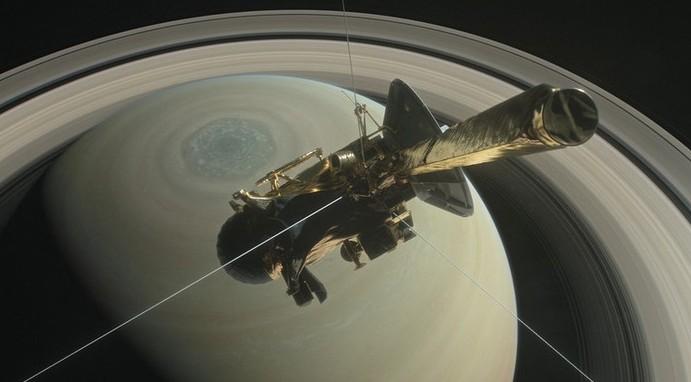 Зонд Cassini начал спуск в атмосферу Сатурна