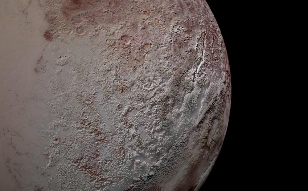 Учёные раскрытии загадку многометровых ледяных лезвий Плутона