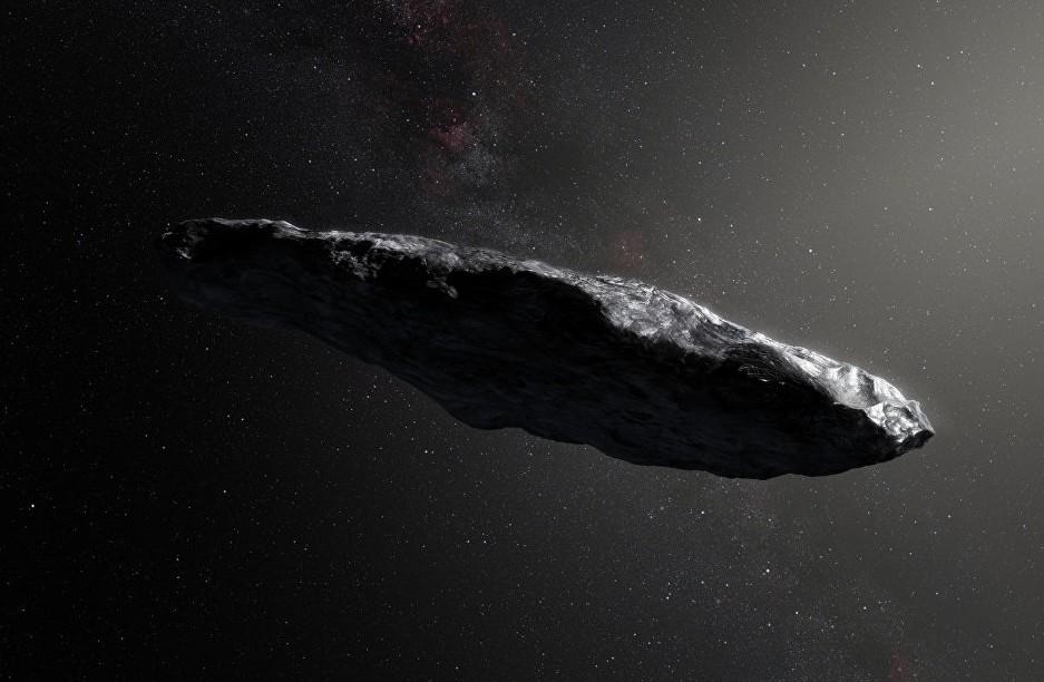 Астрономы обнаружили органику намежзвездном астероиде Оумуамуа