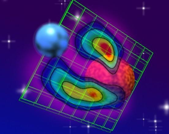 Гигантская магнитная петля простирается между звездами системы Алголь
