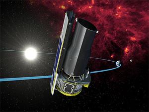 Космический телескоп «Спитцер» разгадал природу загадочной северной звезды