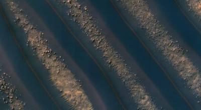 Оригинально ровные дюны Марса от «mars reconnaissance orbiter» CVAVR AVR CodeVision cvavr.ru