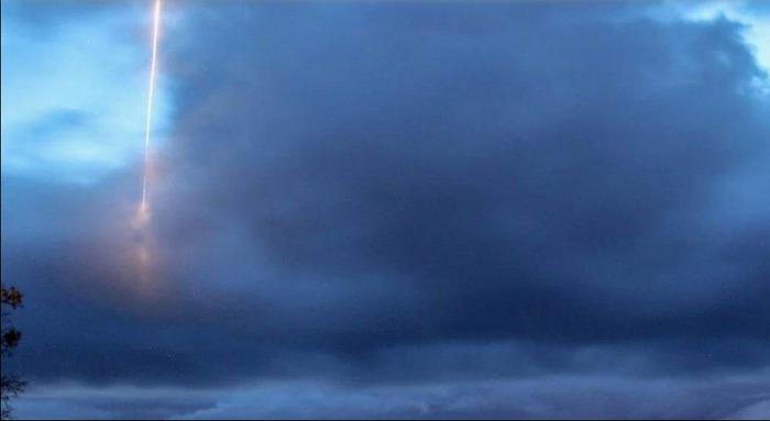 Метеорологическая служба сфотографировала загадочный объект у побережья США