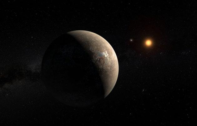 Proxima Centauri b.