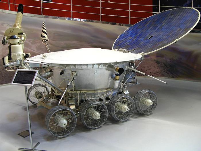 Макет «Лунохода-1». Мемориальный музей космонавтики Москве.