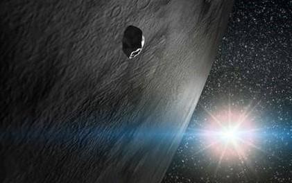 Астероид глазами художника. Иллюстрация Gabriel Perez