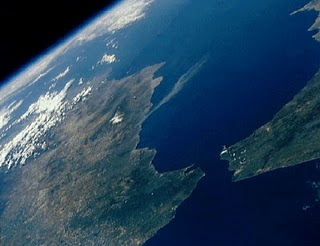 Земля из космоса. Фото NASA