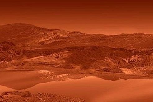 Художественное изображение озер на поверхности Титана. Фото NASA