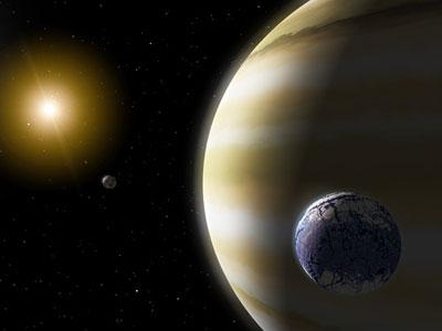Другой мир. Иллюстрация NASA