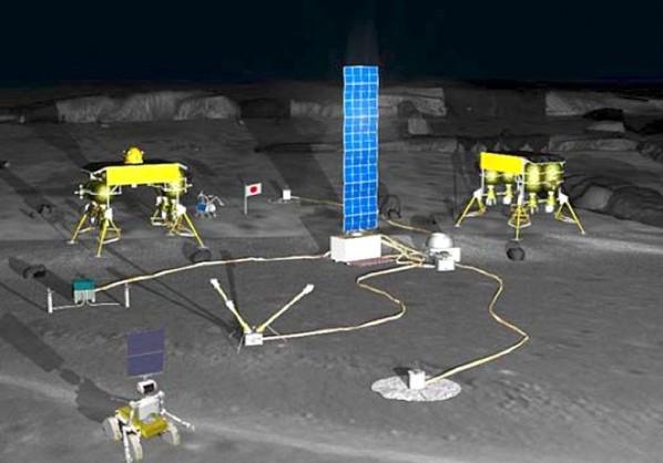 Япония планирует построить на Луне роботизированную базу к 2020 году