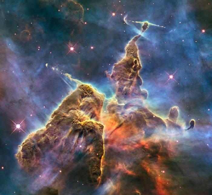 Захватывающий снимок от телескопа «Хаббл» (+Видео)