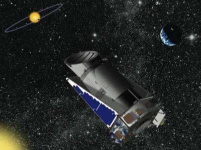 Космическая обсерватория «Кеплер». Иллюстрация NASA