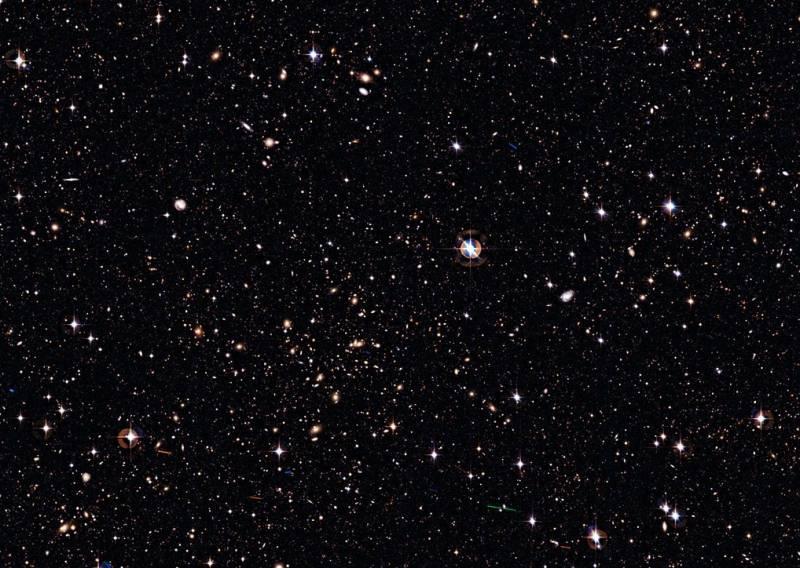 Все небо в галактиках