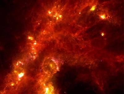 Область звездообразования в созвездии Персея.