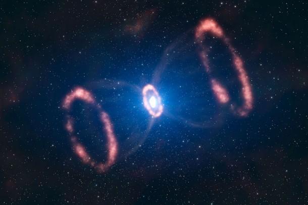 Астрономы создали 3D-реконструкцию распределения материи сверхновой SN 1987A (+Видео)