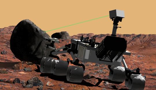 Специалисты из NASA провели первое испытание нового марсохода «Curiosity»