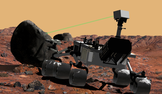 Марсоход «Curiosity. Иллюстрация NASA