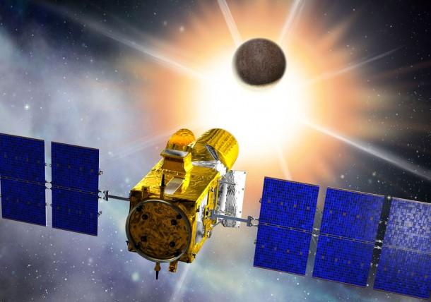 Телескоп CoRoT. Иллюстрация CNES/D. Ducros