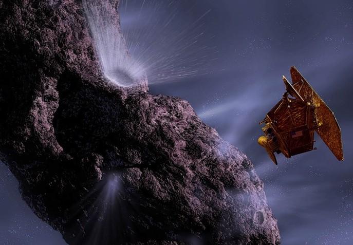 Аппарат Deep Impact. Иллюстрация NASA