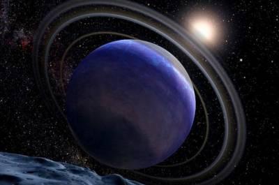 Экзопланета HR 8799b глазами художника. Иллюстрация NASA