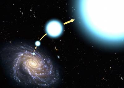 Астрономы изучили высокоскоростную звезду