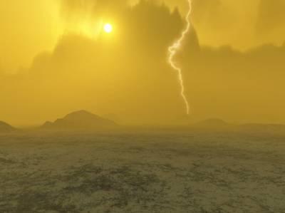 Была ли Венера водным миром? Иллюстрация ESA.