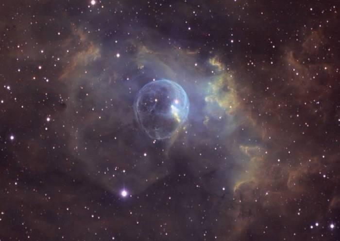 Туманность Пузырь (NGC 7635). Фото NASA / GSFC