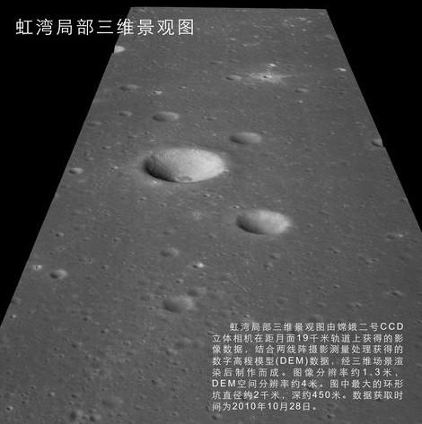 Китайский лунный зонд «Чанъэ-2» передал на Землю первые снимки