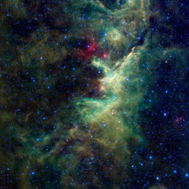 Область звездообразования IRAS 22298 +6505