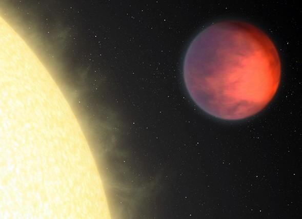 Экзопланета ипсилон Андромеды b озадачила астрономов