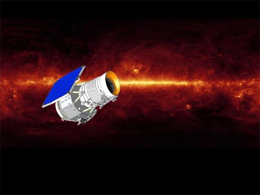 Телескоп WISE. Иллюстрация NASA