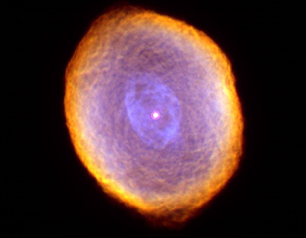 Планетарная туманность IC 418. Фото NASA/ESA and The Hubble Heritage Team STScI/AURA