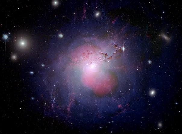 Галактика NGC 1275. Фото NASA, ESA, NRAO and L. Frattare (STScI)