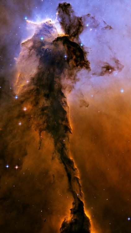"Регион ""Фея"" в туманности Орла. Фото NASA, ESA, and The Hubble Heritage Team STScI/AURA"