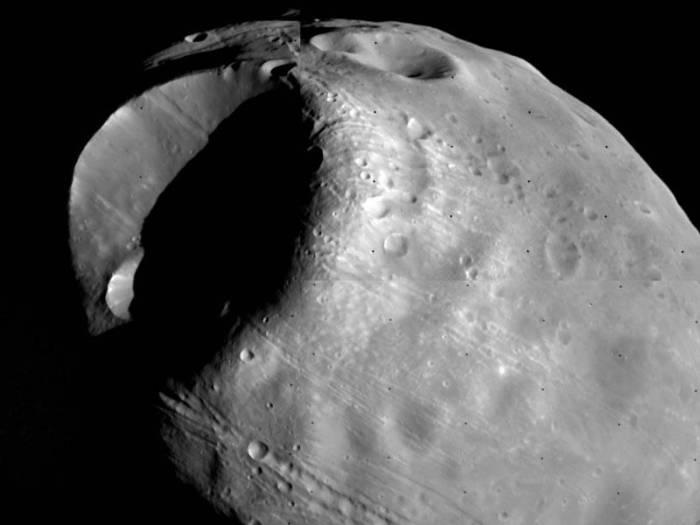 Фобос. Фото NASA