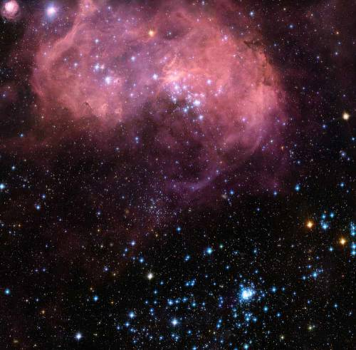"Туманность LHA N 120-11 глазами телескопа ""Хаббл"". Фото NASA/ESA Full Story"