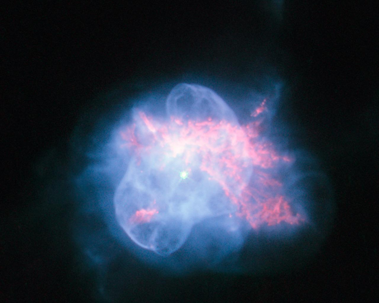 Планетарная туманность NGC 6210. Фото ESA/Hubble and NASA