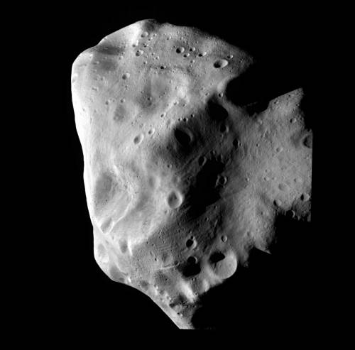 Астероид 21 Лютеция. Фото ESA